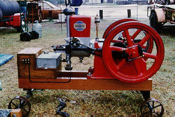 Hired Man Antique Gas Engine